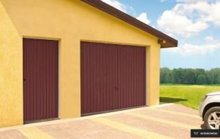 Бокові алюмінієві панельні двері wisniowski-6