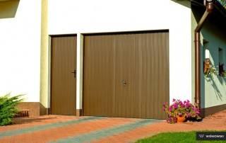 Бокові алюмінієві панельні двері wisniowski-7