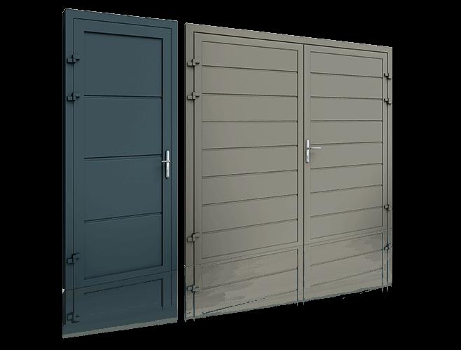 Бокові двері для дому wisniowski