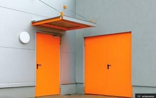 Сталеві суцільні внутрішні двері wisniowski-4