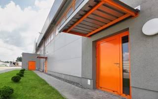 Сталеві суцільні внутрішні двері wisniowski-5