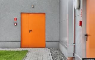 Сталеві суцільні внутрішні двері wisniowski-6