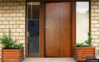 Сталеві суцільні внутрішні двері wisniowski-8