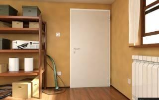 Сталеві суцільні внутрішні двері wisniowski-9