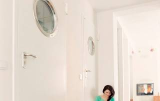 Сталеві суцільні внутрішні двері wisniowski-10