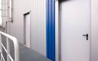 Сталеві суцільні внутрішні двері wisniowski-16
