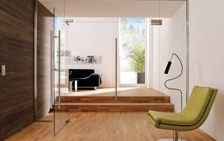 Повністю скляні двері, суцільноскляні двері wisniowski-5