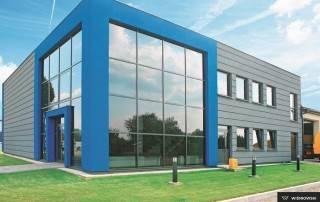 Алюмінієві та сталеві фасадні конструкції для промислових об'єктів-10
