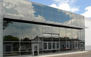 Алюмінієві та сталеві фасадні конструкції для промислових об'єктів-17