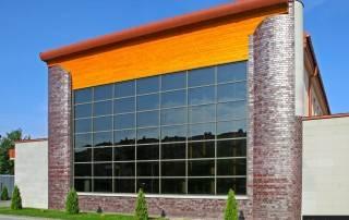 Алюмінієві та сталеві фасадні конструкції для промислових об'єктів-26