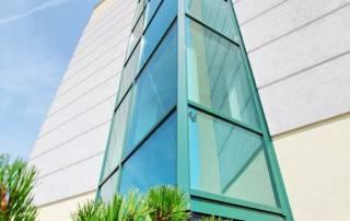 Алюмінієві та сталеві фасадні конструкції для промислових об'єктів-40