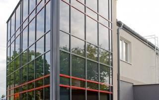 Алюмінієві та сталеві фасадні конструкції для промислових об'єктів-41