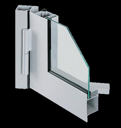 Сталеві профільні внутрішні двері FORSTER PRESTO для промислових об'єктів