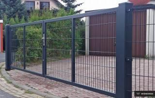 Промислові розпашні ворота та хвіртки wisniowski системи GARDIA-1