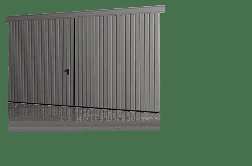 Відкатні підвісні ворота для промислових об'єктів