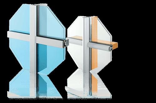 Алюмінієві та сталеві фасадні конструкції для промислових об'єктів