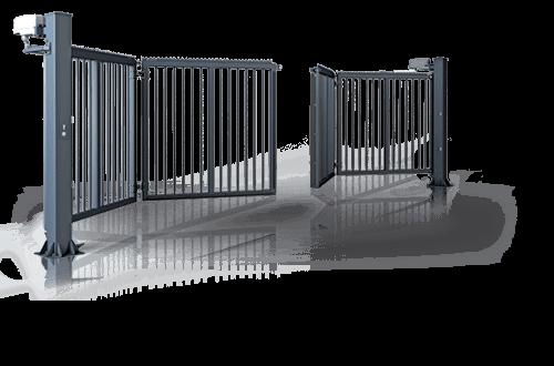 Складні ворота V-KING - промислова огорожа