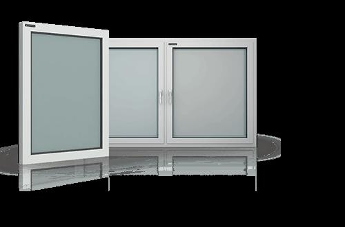 Алюмінієві вікна для промислових об'єктів