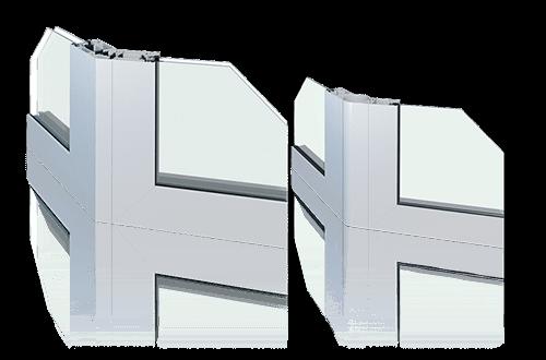 Алюмінієві та сталеві перегородки для промислових об'єктів