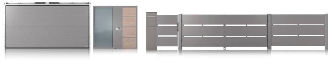 Home inclusive 2.0 Wisniowski. Ворота, двері та огорожа в одному дизайні-1