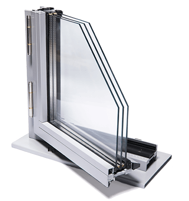 Сталеві зовнішні вікна JANSEN ARTE для промислових об'єктів
