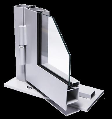 Сталеві профільні внутрішні двері JANSEN ECONOMY 50 для промислових об'єктів