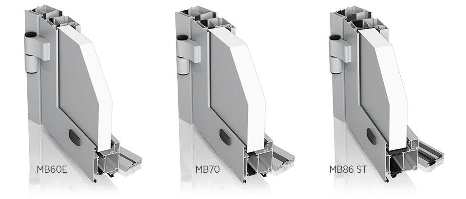Алюмінієві зовнішні двері wisniowski PLUS LINE для промислових об'єктів