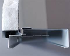 Тип дверних коробок суцільних сталевих дверей wisniowski. Охоплююча коробка