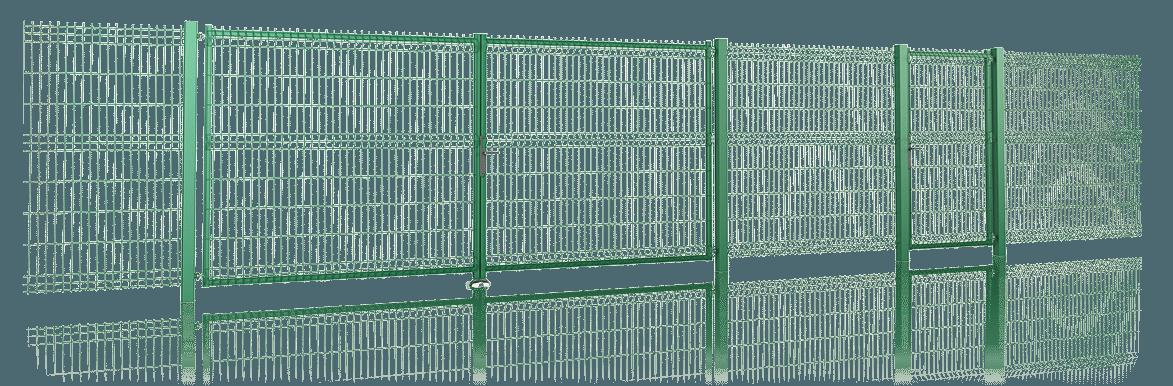 Сучасний та надійний захист території - решітчасті панелі VEGA 3D