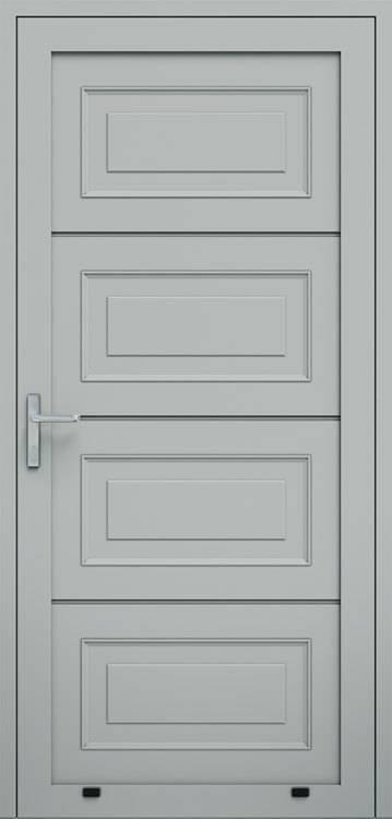 Алюмінієві панельні двері wisniowski, кесони