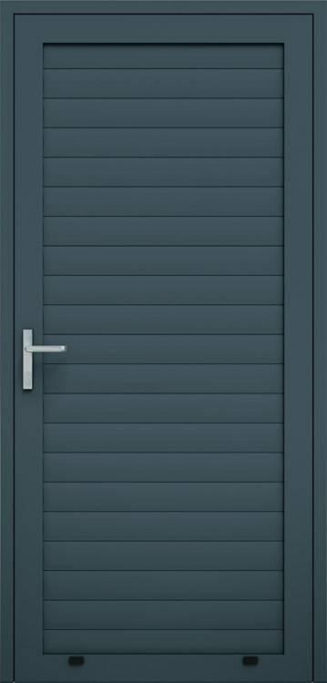 Алюмінієві панельні двері wisniowski, профіль AW100