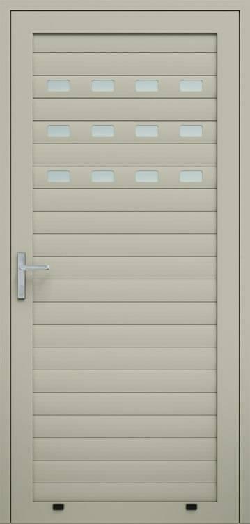 Алюмінієві панельні двері wisniowski, засклений профіль AW100