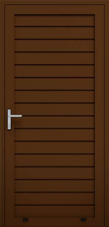 Алюмінієві панельні двері wisniowski, низьке формування