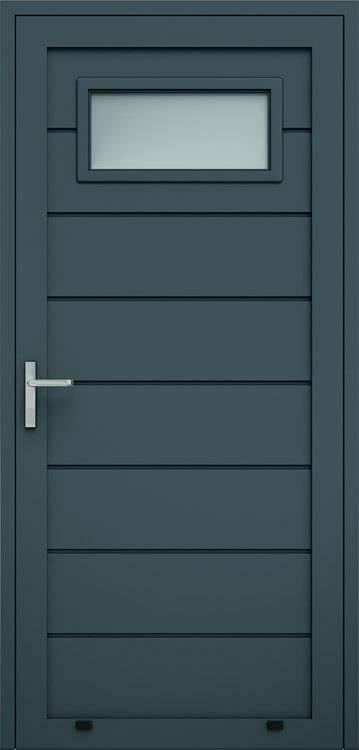 Алюмінієві панельні двері wisniowski, високе формування, скління А1
