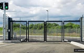 Складні ворота V-KING для промислових об'єктів-2