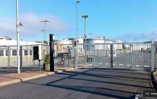 Складні ворота V-KING для промислових об'єктів-3