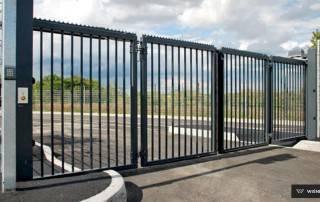 Складні ворота V-KING для промислових об'єктів-4