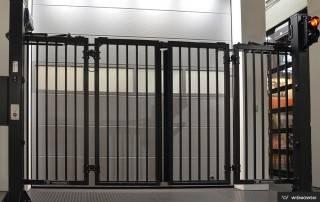 Складні ворота V-KING для промислових об'єктів-5
