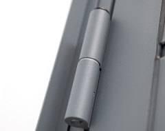 Бокові алюмінієві панельні двері wisniowski. Роликова петля AW45