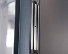 Сталеві протипожежні суцільні двері wisniowski - електромагнітний замок