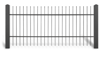Секція AW.10.07 для системи огорожі STYLE