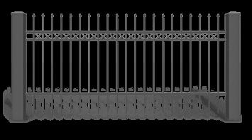Секція AW.10.20 для системи огорожі STYLE