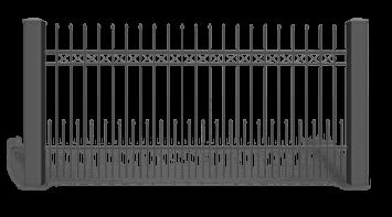 Секція AW.10.21 для системи огорожі STYLE