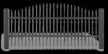 Секція AW.10.45 для системи огорожі LUX