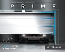 Гаражні секційні ворота PRIME