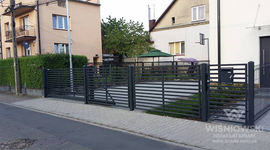 Огорожа MODERN wisniowski – AW.10.105 для дому 10