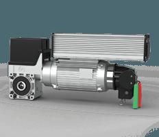 Автоматичний привід серії FU для секційних промислових воріт wisniowski