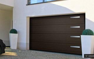 Секційні гаражні ворота UniPro для дому wisniowski-2