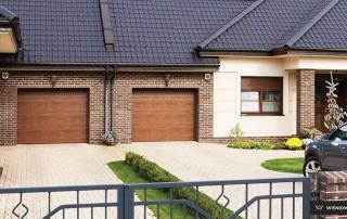 Секційні гаражні ворота UniPro для дому wisniowski-5