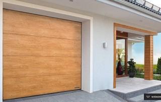 Секційні гаражні ворота UniPro для дому wisniowski-6